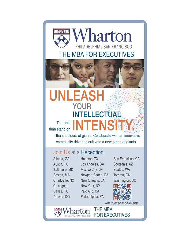 Wharton UNLEASH PRINT 2012Alt
